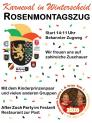 Rosenmontagszug in Winterscheid